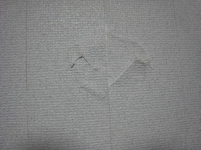 クロスがやぶれたとき クロス張替え 壁紙張替え 各務原市  リフォーム