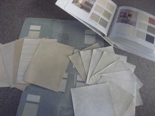 色調と素材感 サンプル見本帳の調達のしかた クロス張替え 岐阜市 各務原市  リフォーム
